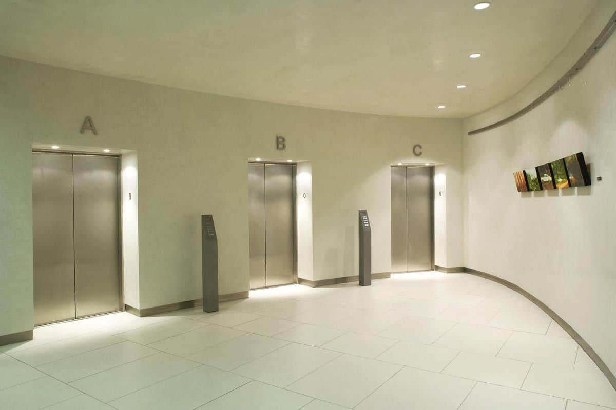 AIB-Bankcentre-lift-lobby